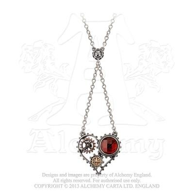 Coeur du Morteur Pendant by Alchemy Empire: Steampunk