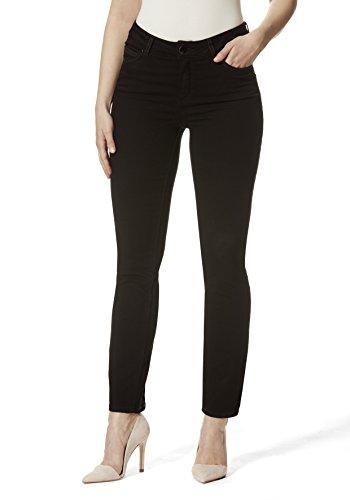 Stooker Milano Damen Stretch Jeans Hose Magic Shape Effekt - Black (46/32)