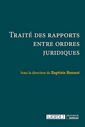 Traité des rapports entre ordres juridiques