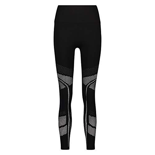 Hunkemöller Femme Legging de Sport Taille Haute HKMX Noir XS