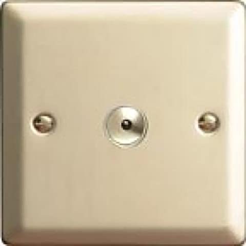 Varilight Satin Chrome Classic V-Pro IR 3 Gang 3 x 100W LED Multi-Way Remote/Touch Control Dimmer Master