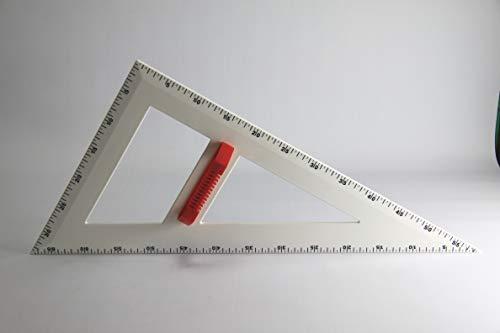 Wissner 160810.M00 - Sacapuntas Profesional (ángulo de 60°, 60 cm), Color Blanco