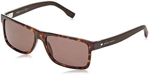 BOSS Hugo Herren 0599/S EJ GPS 57 Sonnenbrille, Braun (Dkhv Brown)