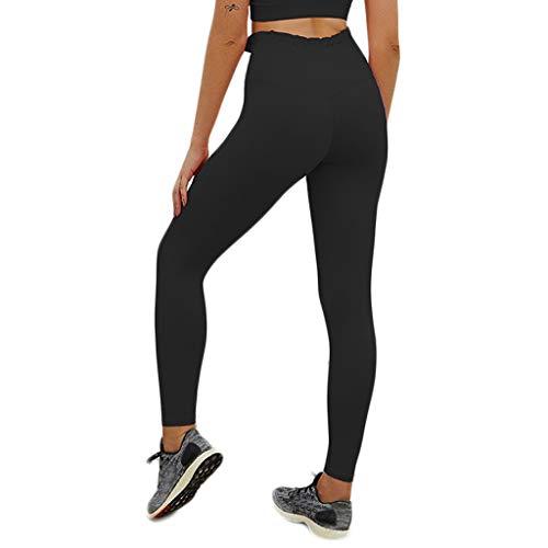 Asalinao Yoga Leggings,Damen Yoga Leggings Sporthose Sport Leggings Tights