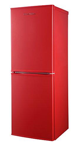 Russell Hobbs 50cm Wide 144cm High Freestanding Red Fridge Freezer RH50FF144R