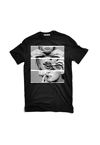 Magic Smoke - T-Shirt Girl Smoke - Noir - XL