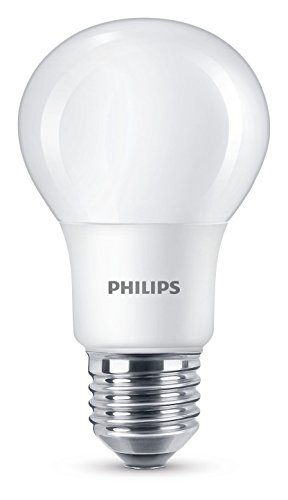 Philips LED WarmGlow Lampe ersetzt 40 W, E27, warmweiß (2200K), 470 Lumen, dimmbar (Light Wake-up Von Philips)