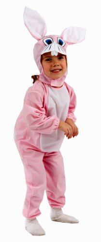 Pink Bunny Rabbit Toddler Fancy Dress Costume Age 3 (disfraz)