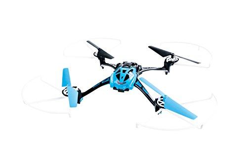 XciteRC 15014000 - Ferngesteuerter RC Quadrocopter Rocket 250 3D - 4 Kanal RTF Drohne mit Kamera, blau