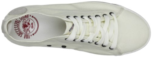 Diesel Lowday Y00311PR700, Baskets mode homme Blanc cassé - Light Ecru