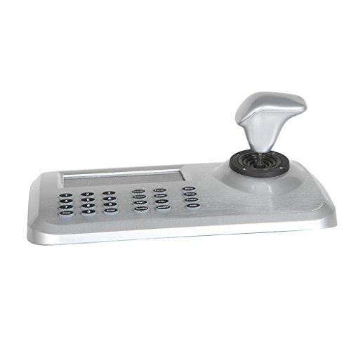 Preisvergleich Produktbild MagiDeal 1 STK. 3D Joystick Keyboard Sicherheitskamera Netzwerk Keyboard Controller 5 Zoll buntes LED-Display für PTZ Speed Dome Kamera