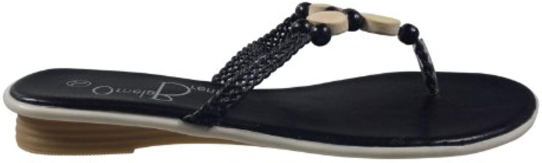 Ornela Brenti 33220-501 Damen Schuhe Premium Qualität Zehentrenner