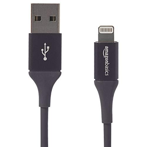 AmazonBasics - Lightning-auf-USB-A-Kabel, Premium-Kollektion, 1,8 m, 1er-Pack - Schwarz (Anker-premium-usb-kabel)