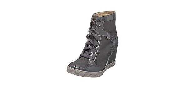 054088cba5740 SKECHERS HIDDEN WEDGE SKCH+3 NUBUCK TRAINER BOOTS (5UK/38EU, GREY):  Amazon.co.uk: Shoes & Bags