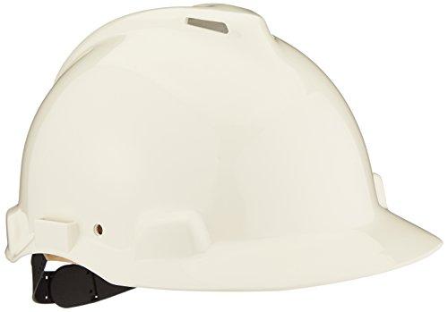 3M G22DW Peltor Schutzhelm G22, ABS, Helm Innenausstattung mit Leder SchWeißband und Pinnlock Verschluss, belüftet, Weiß