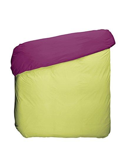Play Basic Collection Bettbezug, aus Polycotton, Kirsche und Pistazien, 220x 220x 3cm