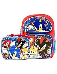 Sonic the hedgehog 40,6cm scuola zaino e borsa termica per il pranzo set (ver. 2)