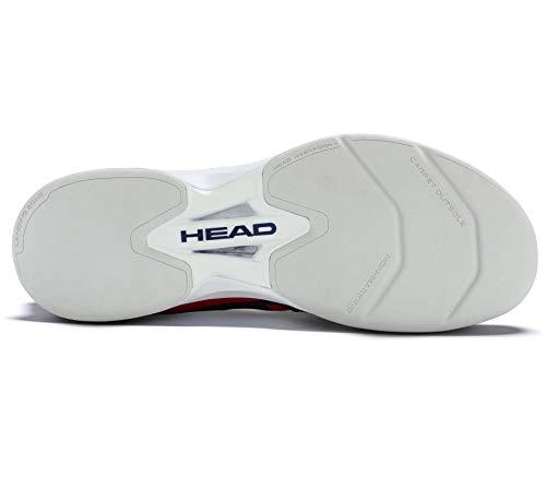 HEAD Herren Tennisschuhe Indoor Sprint Pro 2.0 Carpet blau/rot (958) 44,5EU