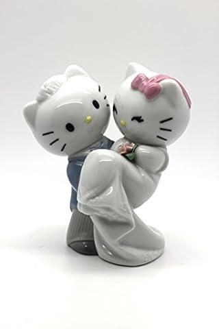 Nao 2001662 Hello Kitty Gets Married! Womens Handmade Porcelain Figure Figurine