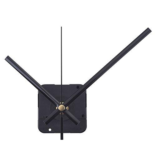 Orologio del Meccanismo al Quarzo Mandrino Lungo, 1/ 2 Pollici Massimo Quadrante Spessore, 9/ 10 Pollici Totale Lunghezza dell'Albero (Nero)
