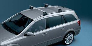 Original Opel Astra H Caravan Dachträger Basisträger für Fahrzeuge mit Dachreling 1732598