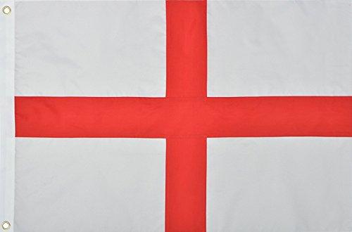 AA Plus Shop International Welt-Land Flaggen, World Cup Flaggen, Flaggen der Welt, 3'x 5' Flaggen St George England Multi