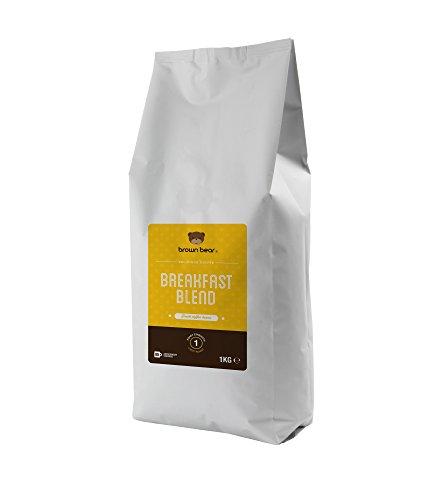 Brown Bear Breakfast Blend Helle Röstung Kaffeebohnen 1 kg