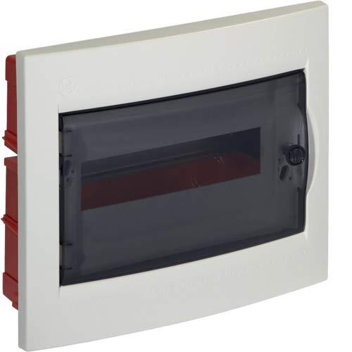 Bocchiotti B04102 Zentralscheibe für Einbaurahmen IP40 INC 12 W0 12 Rauchmelder, weiß
