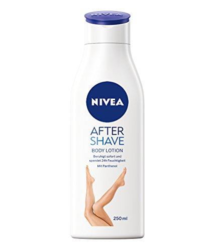 Nivea Protect & Shave After Shave Lotion, Body Lotion für den Körper, 3er Pack (3 x 250 ml)