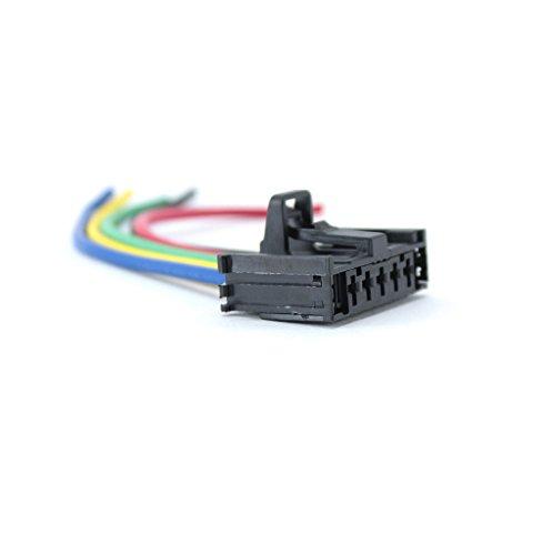 flexiblem-Verkabelung Elektrische Reparatur Anschluss für Widerstand-Heizung–Modul für Lüftung–Alfa roméo-fiat-citroen-peugeot-opel