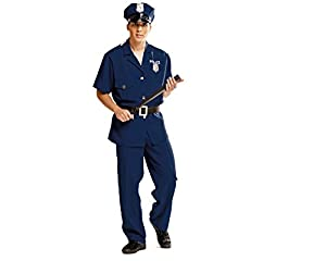 My Other Me Me - Disfraz de Policía, talla XL (Viving Costumes MOM00987)