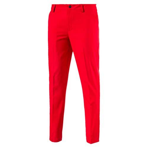 (Puma Herren Tailored Tech Pants Hose, High Risk Red, W38/L32)