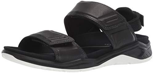 ECCO Damen X-TRINSICW Peeptoe Sandalen, Schwarz (Black 1001), 42 EU Athletic-open-toe-sandalen