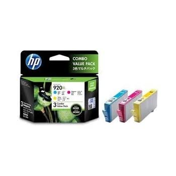 Amazon buy hp 920xl officejet ink cartridge black online at hp 920xl color officejet ink combo pack fandeluxe Images