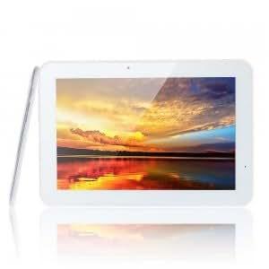 "HYUNDAI T10 10.1"" IPS Quad-Core Android 4.0 2GB / 16GB Phone Tablet PC 2G/3G GPS Bluetooth HDMI White & Silver"