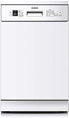 LAVAVAJILLAS INFINITON DIW-4614W Blanco Ancho 45CM (A++, 7 Programas, Display LED, Tercera Bandeja, Control Electronico, Tamaño Reducido, 10 Servicios, Independiente)