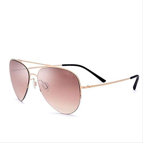LKVNHP Neue Hochwertige Sonnenbrille Männer Ultraleicht Nylon Objektiv Neue Schutz Hochwertige Sonnenbrille Für Frauen Titanium LegierungC3