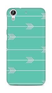 Amez designer printed 3d premium high quality back case cover for HTC Desire 626 LTE (Arrow Pattern)