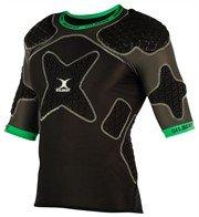 Rugby Schulterschutz Synergie 12 - Gr. XL (black/green)