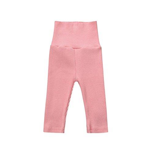 LCLrute Infant Kinder Mädchen Jungen Baby Gestrickte Winter Ball Weiche Kleidung Hosen (Rosa, (Katze Kostüm Mütze Kleinkind Im Hut)