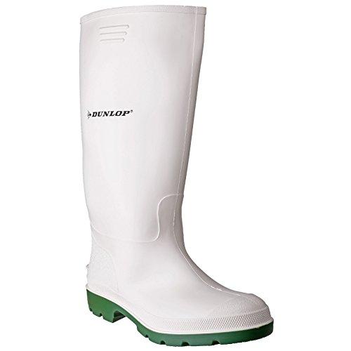 Dunlop Herren Stiefel Weiß/Grün