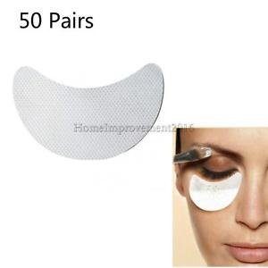 Alcoa Prime 50Pair Under Eye Patches Shield Pads for Eyeshawdow Makeup Eyelash Extension