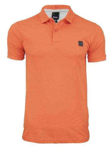 Bench Herren Langarmshirt Polo Shirt Tidie Rot