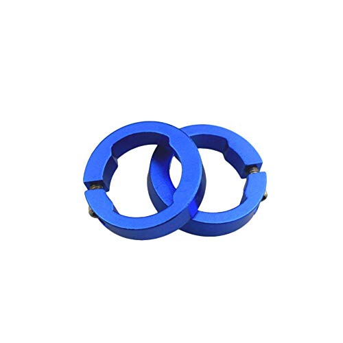 funnyfeng Bicycle Grips Ring, Aluminium Bicycle Grips Ring Fahrrad Lenker Grips Lock Ringe, Mountain Lenker Hülse Sicherungsring Festen Sicherungsring Sicherungsring -