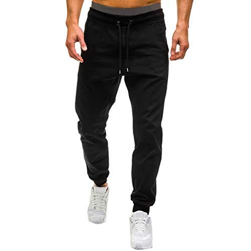 Pantalones Hombre Running Largos Pantalones Rockeros Hombre...