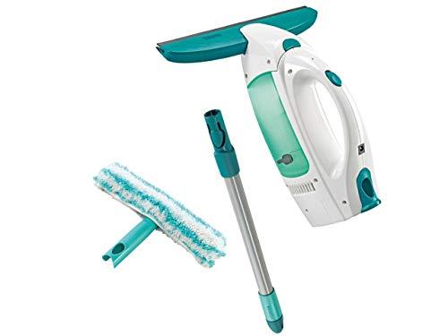 Fenstersauger Set Dry & Clean mit Stiel & Einwascher für 360° streifenfreie Reinigung,...