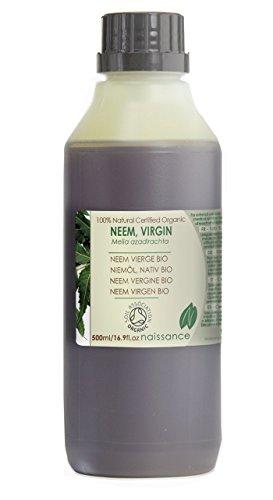 Olio di Neem Vergine Biologico - Olio Vettore Puro al 100% - 500ml