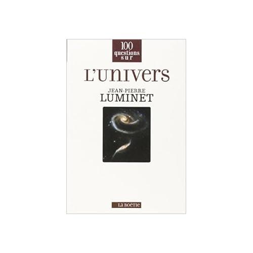 L'univers de Jean-Pierre Luminet ( 11 septembre 2014 )