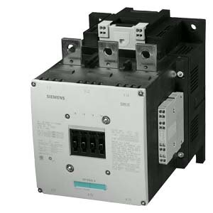 SIEMENS SIRIUS - CONTACTOR 250KW AC-3 110-127V 2NA+2NC 3 POLOS S12