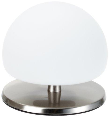 Fabas 2513-30-178 Tischleuchte nickel satiniert Touchdimmer, 1x 40 Watt G9, Höhe: 13 cm